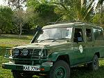 Kiwara privat Safari, Toyota Land Cruiser; Kenya Tsavo Ost National Park